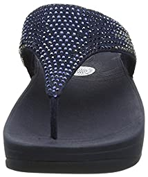 Fitflop 302 Womens Flare Sandals, Supernavy - 8.5