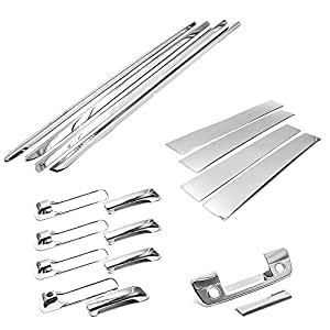 Amazon Com Sizver Super Chrome Combo Set Stainless Steel