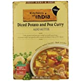 Kitchen Of India Aloo Mutter Diced Pot & Pea Curry (10 Oz) (Pack of 6)