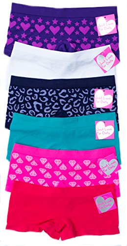 GP-6P-37006-XL Just Love Panties for Girls / Girls Panties (Pack of (Sexy Outfits For Big Girls)