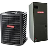 3 Ton 13 SEER Multi Speed Goodman Central Air Conditioner Split System - Multiposition