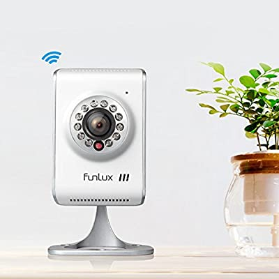 Funlux® 1280* 720P HD Wireless WiFi IP Network Home Surveillance Security Camera
