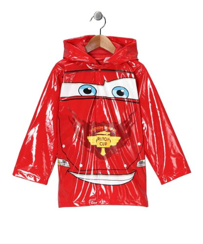 Disney Cars Boy's Red Rain Coat