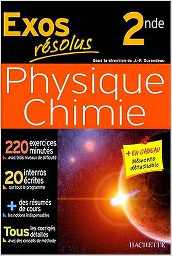 Livre gratuits Physique-Chimie 2e epub pdf