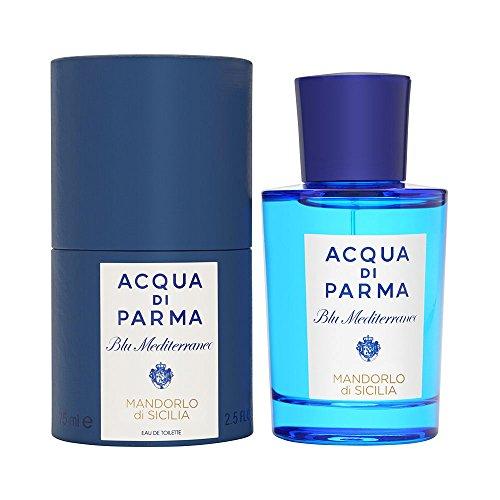 Acqua Di Parma Blue Mediterraneo Mandorlo Di Sicilia Eau de Toilette Spray, 2.5 Ounce ()