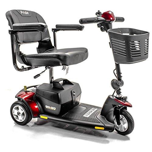 Go go traveller elite 3 wheel electric scooter pride for Go go motorized scooter