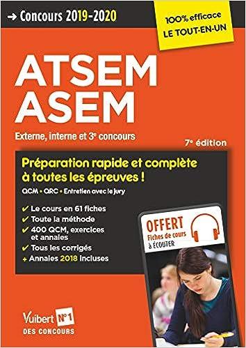 3adab3509c1 Amazon.fr - Concours ATSEM et ASEM 2019-2020- Catégorie C - Préparation