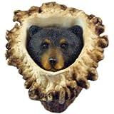 Sierra Lifestyles SL-681350 Bear Deer Burr Knob, Black