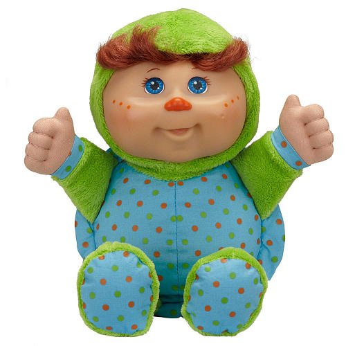 [Cabbage Patch Kids Cuties Plush Doll - Green Turtle] (Cabbage Head Costume)