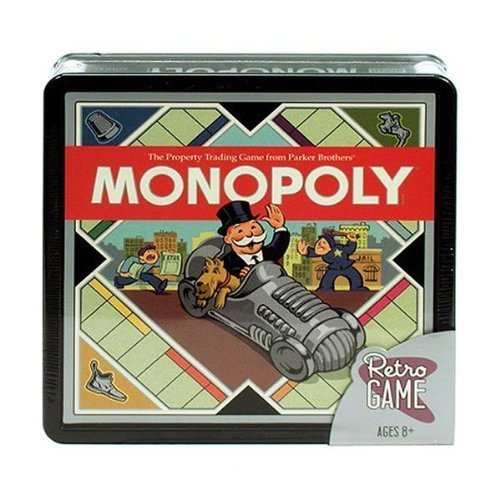 - Monopoly by Parker Brothers Retro Game
