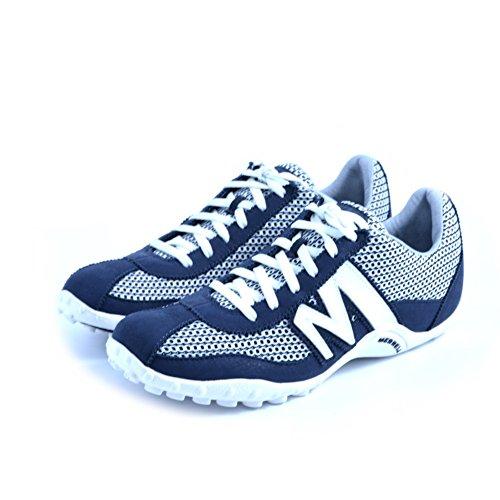 Suede Blast Mesh Merrell Bianco Sneaker J598515 White Sprint Uomo Ltr x1nntwU5v