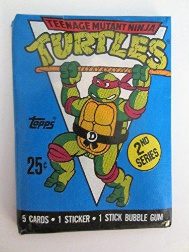 1990 Topps Teenage Mutant Ninja Turtles Animation Cards 2nd Series