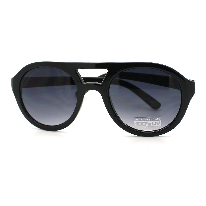 Amazon black super thick plastic frame aviator sunglasses amazon black super thick plastic frame aviator sunglasses clothing jeuxipadfo Images