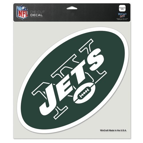 - New York Jets 8x8 Die Cut Full Color Decal Made in the USA