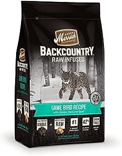 product image for Merrick Grain Free Backcountry Game Bird Recipe Cat Food, 6 lb Bag