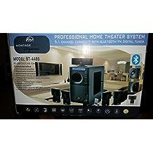 Cinema Wave Series: Model BT4480 - Professional Home Theater Black