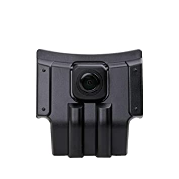 Middle ,Black for Prado Land Cruiser 150 2014 2015 2016 Misayaee Vehicle-Specific car Front View Logo Embedded Camera Parking System with CCD Waterproof IP67 Wide Degree