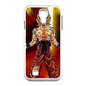 Samsung Galaxy S4 9500 Cell Phone Case White Dragon Ball Z Super Saiyan 2 SU4476522