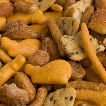 FERIDIES 5 o'Clock Crunch Snack Mix -4 Pack - 14oz Tins