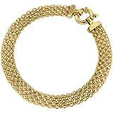 Carissima Gold 9 ct Bismark Bracelet