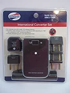 american tourister international converter set instructions
