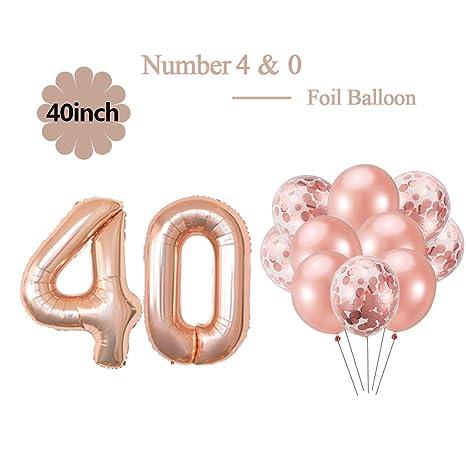 Amazon.com: Juego de decoraciones para fiesta de cumpleaños ...