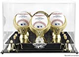 Chicago White Sox 2005 World Series Champs Golden Classic Three Baseball Logo Display Case