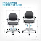 Children Desk Chair for Kids Height Control Student Study Adjustable Seat Office Seat