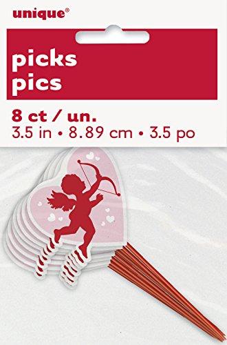 Cupid Valentines Day Toothpicks 8ct
