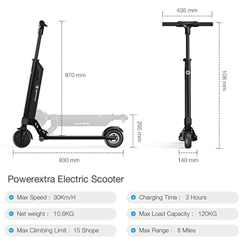 Powerextra Adult Electric Scooter