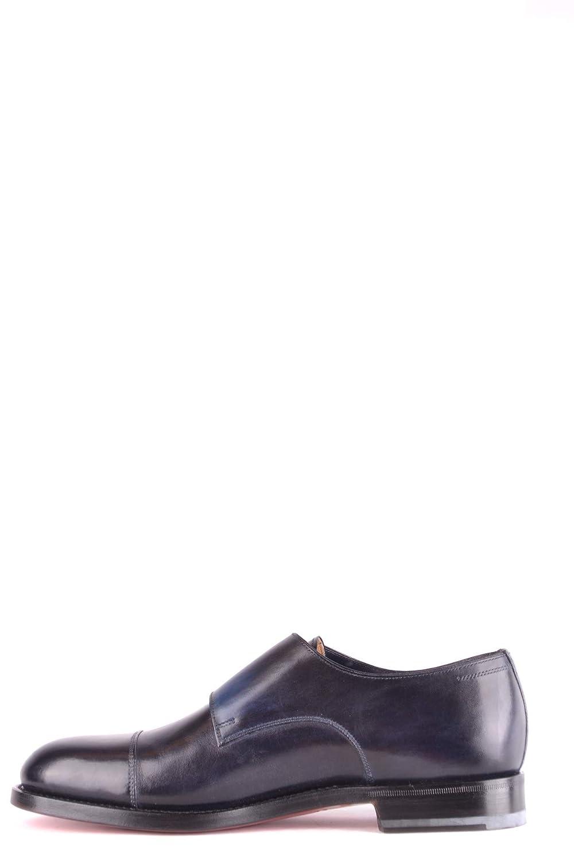 Santoni MCBI267047O Herren MCBI267047O Santoni Blau Leder Monk-Schuhe - 802bc1