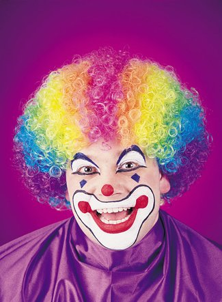 Colorkolon Rainbow Wig Costume