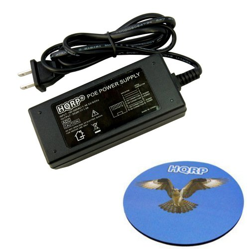 HQRP 24V 1.5A POE/Power Over Ethernet Power Supply Injector