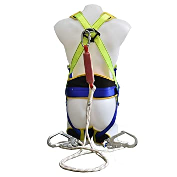 MIASJIA Escalada arnés Cintura protección Trabajo aéreo Rock ...