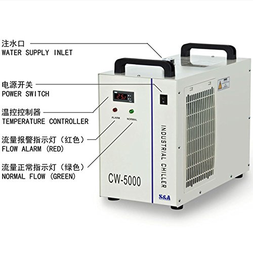 Industrial Water Chiller Cool 5KW Spindle Welding Equipment CW-5000DH 110V 60Hz by TEYU (Image #1)