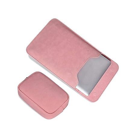 GFLD Equipo Bolsa Forro Apple Lenovo mijo PU Piel Scrub Paquete de energía portátil Impermeable Bolsa