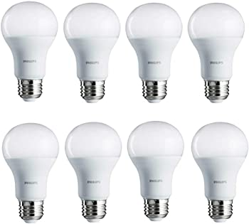 8-Pack Philips 14-Watt A19 Non-Dimmable Daylight LED Light Bulb