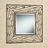 Touch of Class Jewel Dance Wall Mirror Brushed Bronze