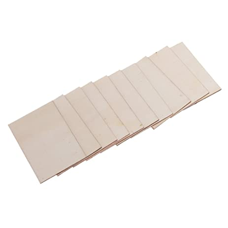amazon com monkeyjack 10 pieces 70x49mm blank plywood wood business