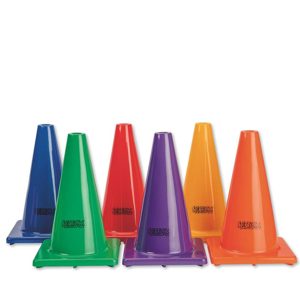 12 Spectrum Poly Cones