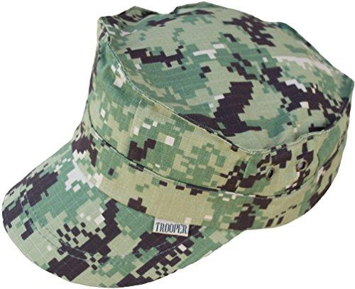 Kids U.S. Navy AOR II Camo Work Uniform 8-Point Cap
