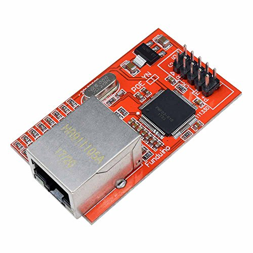 diymore Mini W5100 LAN Ethernet Shield Network Board Module for Arduino Ethernet UNO Mega 2560 by diymore (Image #1)