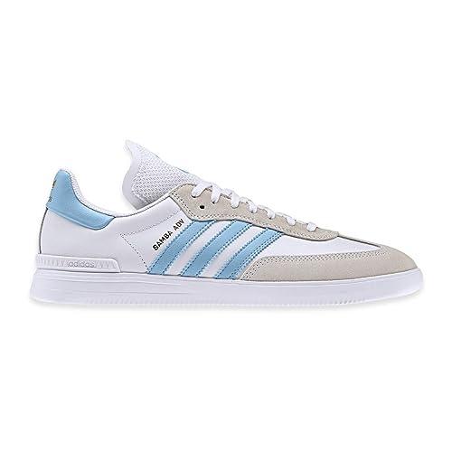 get cheap 53d8a cdb5b adidas Samba Adv Crystal White Clear Blue Footwear White 8uk   Crystal White