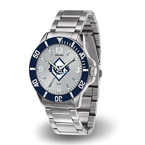 Tampa Bay Rays Key Watch with Stainless Steel Band ()
