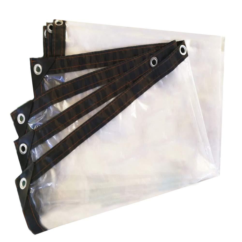 WXF Plane Transparentes Wasserdichtes Isolierungs-Plastikstoff-Fenster der Tarpaulin-0.14mm Winddicht