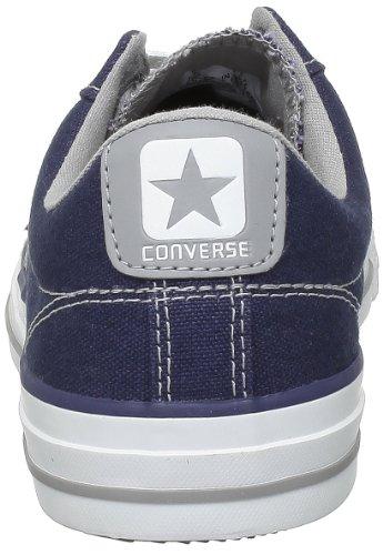 Converse Star Player Ev Canvas Ox - Zapatillas de Deporte de lona Unisex azul - Marine/gris