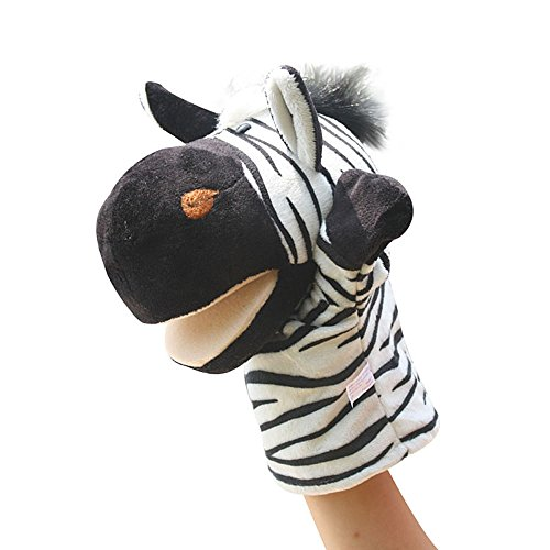 (Baidecor Zebra Hand Puppets Toys)
