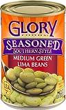 Glory Seasoned Lima Beans, 15 Ounce