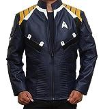 Star Trek Costume Jacket - Blue Jacket Men's Outerwear (3XL, Blue)