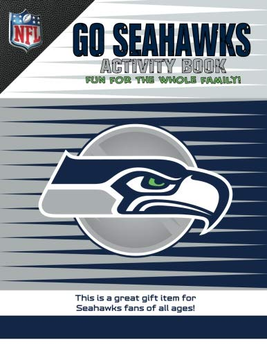 In The Sports Zone NFL Seattle Seahawks Activity Book/Blue/White/One Size